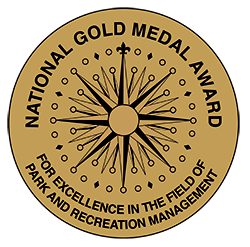 National Gold Medal Award for Excellence in the field of Park and Rec management